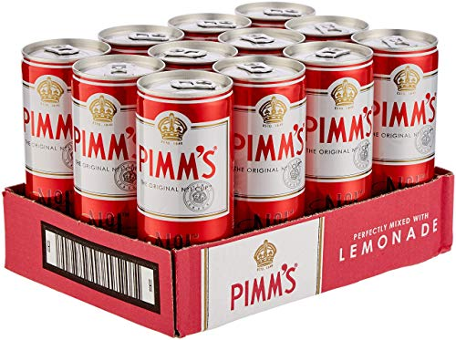 Pimm's and Lemonade Pre-Mixed and Ready to Drink Can, 12 x 250 ml