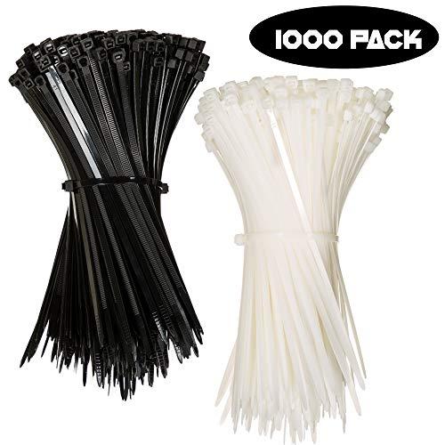 1000 count zip ties - 8