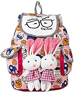 Leather Retail® stylish Bunny backpack Multicolored colors bag