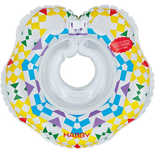 HABBY赤ちゃん用ベビーフロート首浮き輪(TSUMIKI)