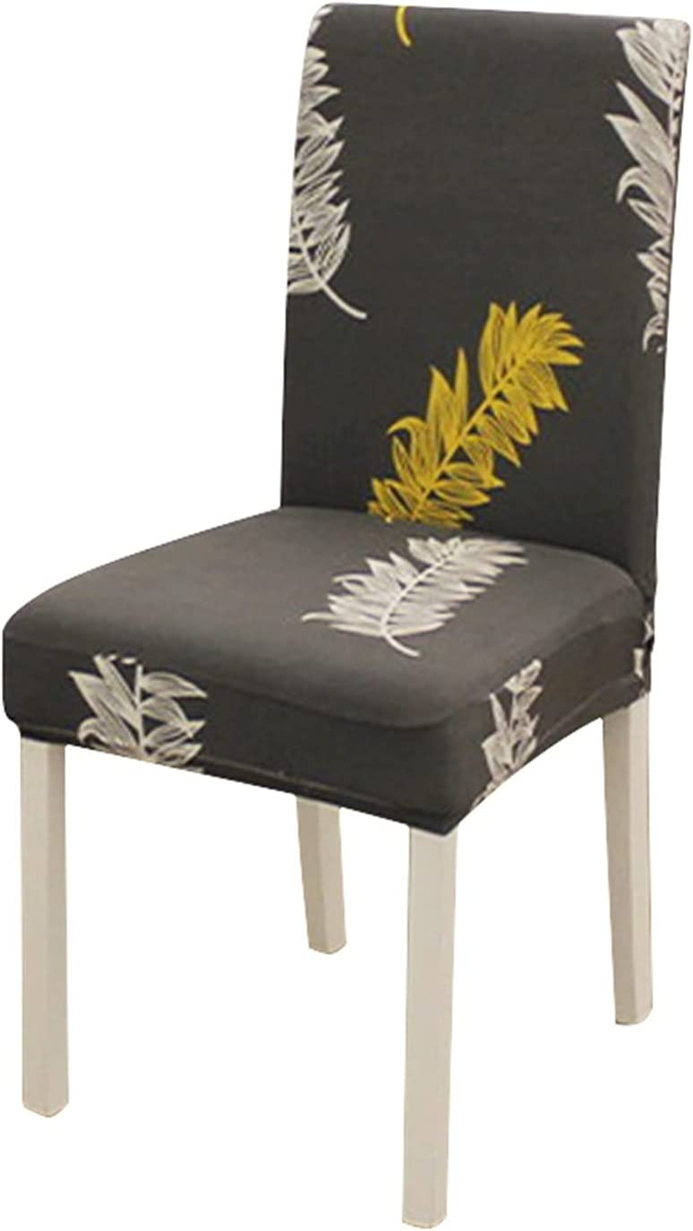 SYOUCC low-pricing Manufacturer regenerated product Chair Covers 1 2 4 Stretch 6 8pcs C Elastic Printed