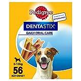 Pedigree Dentastix - Friandises pour petit chien, 56 bâtonnets à mâcher pour l'hygiène bucco-dentaire (1 boîte de 880 g /...
