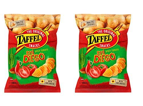 Papas fritas TAFFEL, 75 g, paquete de 2