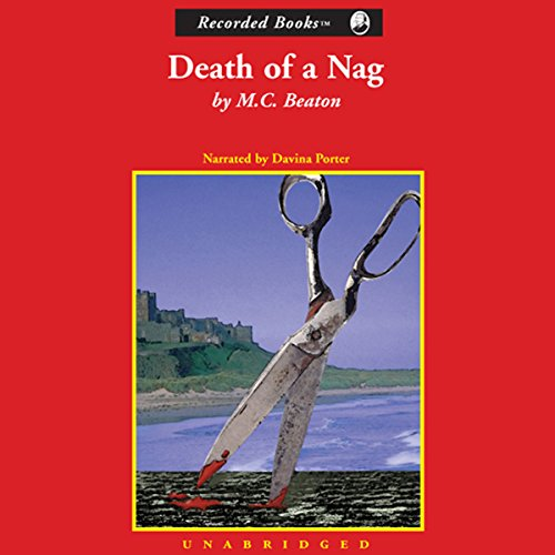 Death of a Nag audiobook cover art
