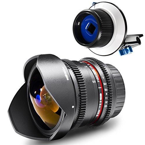walimex pro VDSLR Set Fish-Eye II für Canon#