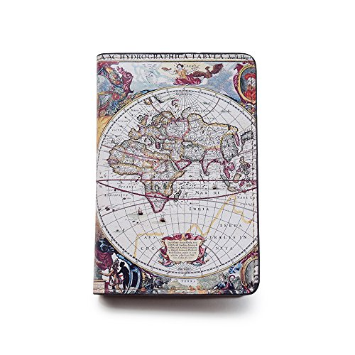 Novelty Leather Passport Cover - Vintage Passport Wallet - Travel Accessory Gift -...