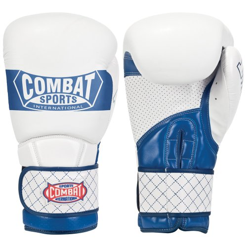 Combat Sports Imf Tech Boxing Sparring Gloves (White, 16-Ounce)