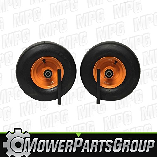 MowerPartsGroup (2) Scag Wheel Assemblies Turf Tiger Cub 13x6.50-6 Replaces 482504 483050 9278