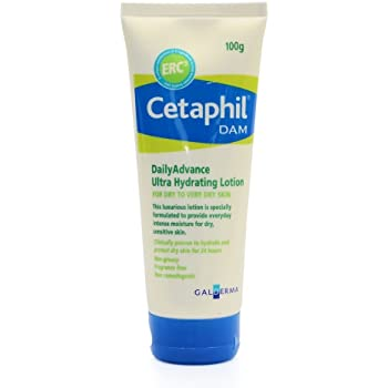 Cetaphil Dam Advance Ultra Hydrating Lotion For Dry Skin 100g