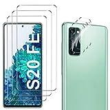 GESMA para Samsung Galaxy S20 FE Protector de Pantalla (3 Piezas) + para Samsung Galaxy S2...