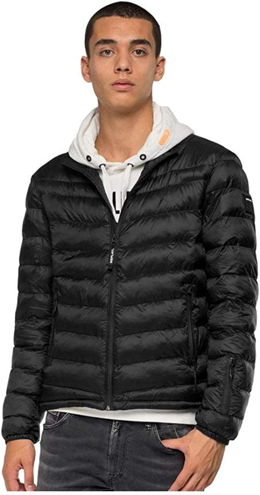 Replay Jeans Duckfree Jacket, Black, XL