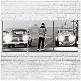 sjkkad Film Es war einmal in Amerika Poster Auto Moderne