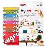 Sugru Mouldable Glue de tesa, adhesivo fuerte multiusos, envase de 8 (8 x 3,5 g) en Multicolor