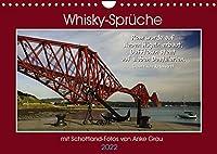 Whisky-Sprueche (Wandkalender 2022 DIN A4 quer): Mit tollen Schottland-Aufnahmen und flotten Texten zum fluessigen Gold durchs Jahr (Monatskalender, 14 Seiten )