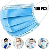 [Spot Goods] 100 PCS Disposable Filter Mask 3 Ply Earloop Medical...