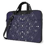 XCNGG Computertasche Umhängetasche Laptop Bag, Colorful Nebula Planet Space Business Briefcase...