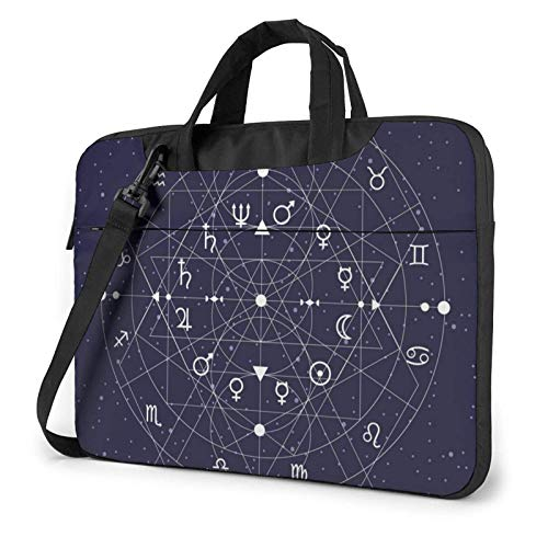 XCNGG Computertasche Umhängetasche Laptop Bag, Colorful Nebula Planet Space Business Briefcase Protective Bag Cover for Ultrabook, MacBook, Asus, Samsung, Sony, Notebook 13 inch