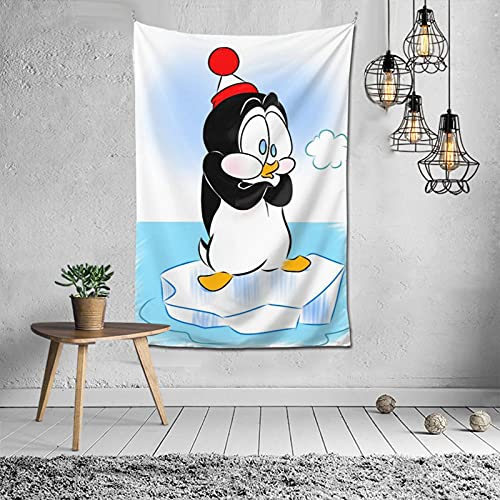 EgVgxir Chilly Willy Tapestry Colorful Wall-Mounted Romantic Tapestries Wall Hanging Home Decoration 60 X 40 Inches