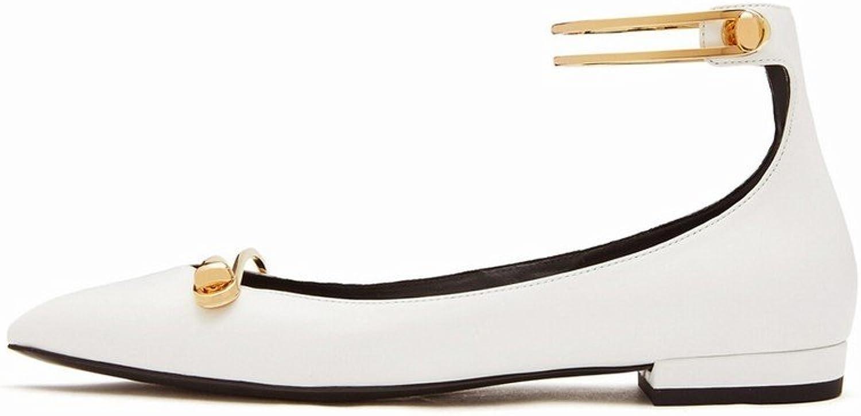 SED Frühling und Sommer Frauen Schuhe Wort Wort Schnalle Flache Schuhe Frauen 'S Einfache Mode Flachen Mund Flach mit Einzelnen Schuhen  Grundpreis