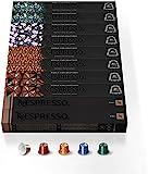 NESPRESSO CAPSULE ORIGINALI - Selezione Espresso&Lungo,100 capsule di caffè Linea Original, Riciclabili