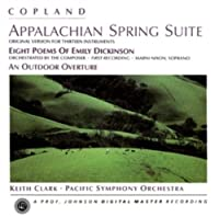 Copland: Appalachian Spring Suite by Clark:cnd/Pacific SO........ (1998-11-11)
