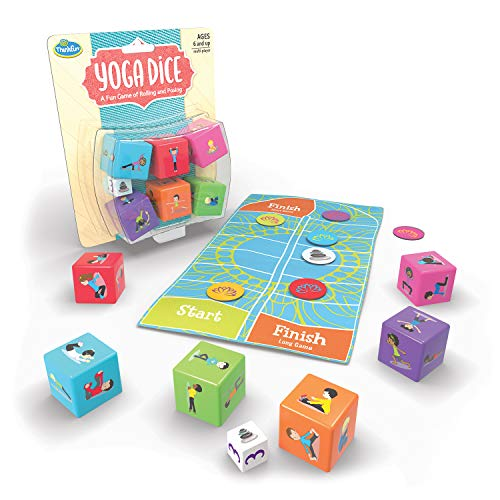 ThinkFun Yoga Dice Game for Boys and Girls Ages 6 and Up - Learn Yoga With a Game