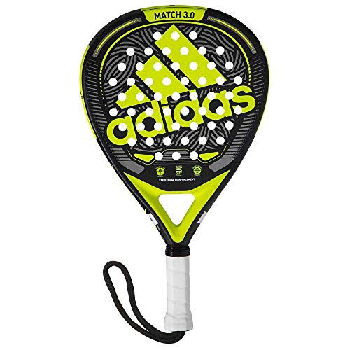 adidas Match 3.0 Raqueta, Adultos Unisex, Lime (Verde), Talla Única
