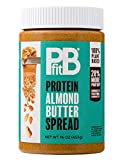 PBfit BetterBody Foods Almond Butter, Protein Spread, Almond Butter Spread, 1 Pound