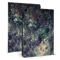 SORA ブリーク銀河系宇宙ロック iPad Air 2 ケース iPad Air ケース 手帳型 オートスリープ機能付き iPad Air/iPad Air 2 保護カバー ペンホルダー付き 強化ガラス液晶保護フィルム付き