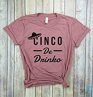 Cinco de Drinko, Cinco de mayo shirt, Funny drinking shirt, Top For Women, Vacation Tank Top, Womens vacation Shirt, Vacay Mode, travel shirt, brunch shirt