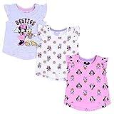 3 x Camiseta Minnie Mouse, Daisy Disney 12-18 Meses