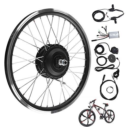 Kit di conversione Bici elettrica da 36V 250W da 20 Pollici, Display a LED Kit di conversione Bici elettrica Motore Posteriore Regolatore di velocità
