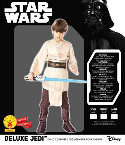 LUCAS–st-630604m–Costume Lusso Jedi–Taglia M