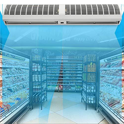 Air Curtain LING AI DA Mai Wandventilator, kleine kompakte Klimaanlage mit 220-V-Fenstereinbau, 2 Endschalter Innenluftschleier - geräuscharmer Innenluftschleier - mit Vollfunktionsfernbedienung