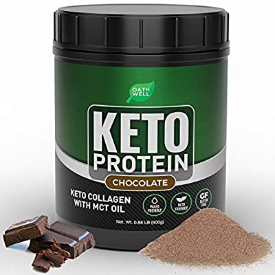 Keto Collagen Protein Powder with MCT Oil - Cho...