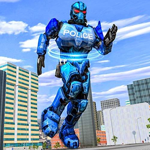 Ultimate City Battle Police Hero Robot Simulator - US Police Robot Cop 3D Games 2020