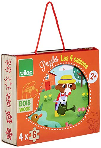 Vilac - Puzzles Les 4 Estaciones (2641)