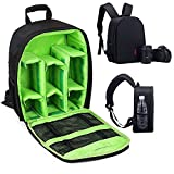 Camera Bag SLR/DSLR Camera Backpack Waterproof and Shockproof for Canon, Nikon, Sony, Olympus, Samsung, Panasonic, Pentax Cameras and Other Accessories
