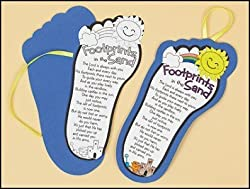 Color Your Own Footprints Poem Craft