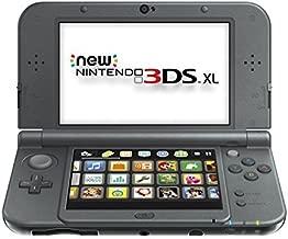 New Nintendo 3DS XL - Black (Renewed)