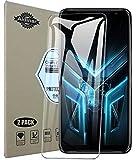 Aidinar.2 Pezzi,Vetro Temperato Pellicola Protettiva per ASUS Zenfone 7 ZS670KS Smartphone, [9H Durezza] [Anti-Graffio] Screen Protector
