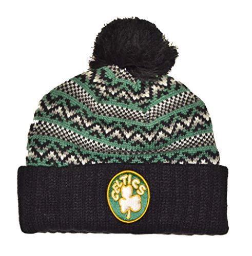 Mitchell & Ness Boston Celtics NBA Jacked Beanie Knit Cap