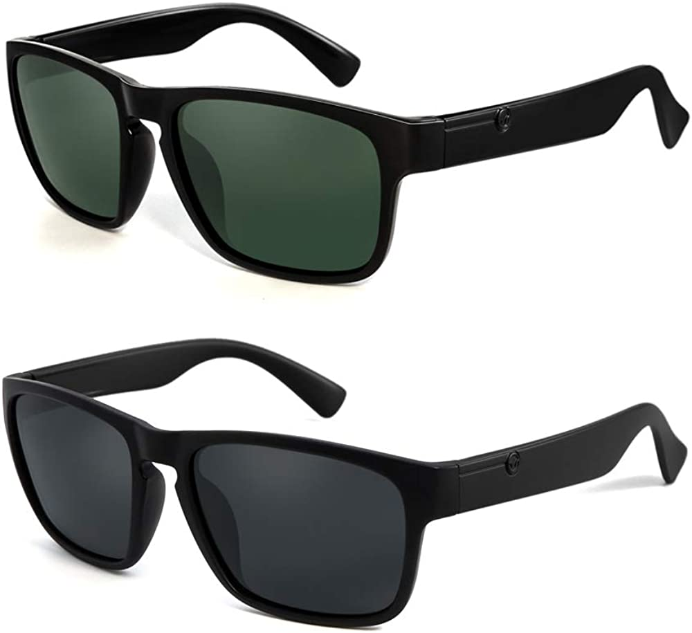POLARKING 2 Pack Polarized Sunglasses Sp Colorado Springs Mall Product Men for Classic Driving