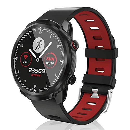 CatShin SmartWatch,Smart Watch Touchscreen Fitness-Tracker wasserdichte Uhr mit Herzfrequenzmesser Schrittzähler Schlafmonitor Stoppuhr für Männer und Frauen kompatibel mit Android iOS (Gray)