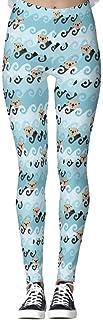 DIYCCY - Pantalones de yoga para mujer, diseño de nutrias marinas