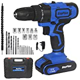 <span class='highlight'>Power</span>ful Cordless Drill Set & Screwdriver w/ Battery, 21V 45N.m Impact <span class='highlight'>Power</span> Tool, Fast Charger, 18   1 Torque Setting w Quick-Release Drill Chuck, 2-Speed, LED Work Light