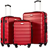 <span class='highlight'><span class='highlight'>COOLIFE</span></span> Suitcase Red red Set