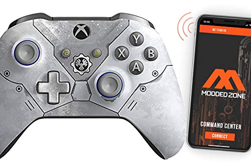 Rapid Fire Standard Custom Modded Controller Compatible with Xbox One S/X 40 Mods for All Major Shooter Games (3.5 mm Jack) (GOW 5')
