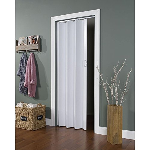 LTL Home Products EN3280HL Encore Interior Accordion Folding Door, 24-36 x 80 Inches, White