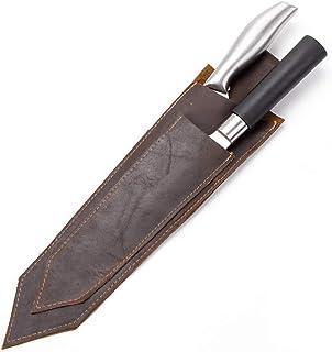 GB370 - Funda de piel para cuchillos, protector de cuchillos, funda de piel para cuchillos